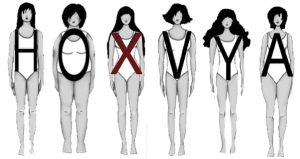 6 מבני גוף עיקריים לנשים